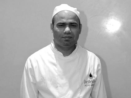 Koloshi Chef Azad Hussain
